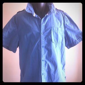 SALE i Jeans by Buffalo Mens Button Down Shirt 2XL